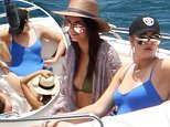 """Picture Shows: Kendall Jenner, Khloe Kardashian  August 18, 2015\n \n """"Keeping Up With the Kardashian"""" stars Khloe, Kourtney, Kendall and Kylie step out in St. Barts during their vacation. The group headed out on a boat to go parasailing. \n \n Non-Exclusive\n UK Rights Only\n \n Pictures by : FameFlynet UK © 2015\n Tel : +44 (0)20 3551 5049\n Email : info@fameflynet.uk.com"""