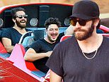 EXCLUSIVE: Jake Gyllenhaal and Mumford & Sons frontman Marcus Mumford were spotted having a blast at Disneyland. The two spent the day enjoying the rides and eating snacks. They were seen sharing a turkey leg and riding the Radiator Springs Racers. They also rode Jungle Cruise, Haunted Mansion, Thunder Mountain Railroad, Space Mountain, and the Matterhorn. While on the Jungle Cruise, the two bumped into actors Josh Gad, Ginnifer Goodwin, and Josh Dallas. The group all hopped on the same boat and enjoyed the ride together. After the ride, Jake and Josh were seen giving their Skipper tour guide a round of an applause.\n\nPictured: Jake Gyllenhaal, Marcus Mumford\nRef: SPL1102989  180815   EXCLUSIVE\nPicture by: Sharpshooter Images/Splash\n\nSplash News and Pictures\nLos Angeles: 310-821-2666\nNew York: 212-619-2666\nLondon: 870-934-2666\nphotodesk@splashnews.com\n