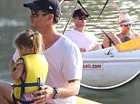 Picture Shows: India Hemsworth, Chris Hemsworth  August 16, 2015\n \n **Min £400 Web/Online Set Usage Fee**\n \n 'Thor' actor Chris Hemsworth and his wife Elsa Pataky take their cute daughter India out for a Sunday afternoon of paddle boating up and down the Charles River in Boston, Massachusettes. \n \n Three year-old India was excited during the boat ride after waiting for her daddy to put her life jacket on. \n \n **Min £400 Web/Online Set Usage Fee**\n \n Exclusive - All Round\n UK RIGHTS ONLY\n \n Pictures by : FameFlynet UK © 2015\n Tel : +44 (0)20 3551 5049\n Email : info@fameflynet.uk.com
