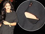 EXCLUSIVE: After partying all day long at Beachclub for her 18th birthday, Kylie Jenner goes to Harlow restaurant in old Montreal escorted by her bodyguards.   Pictured: Kylie Jenner Ref: SPL1054670  160815   EXCLUSIVE Picture by: Ultrawig / Splash News  Splash News and Pictures Los Angeles: 310-821-2666 New York: 212-619-2666 London: 870-934-2666 photodesk@splashnews.com