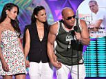 LOS ANGELES, CA - AUGUST 16:  (L-R) Actors Jordana Brewster, Michelle Rodriguez and Vin Diesel accept the Choice Movie: Action Award for Furious 7 onstage during the Teen Choice Awards 2015 at the USC Galen Center on August 16, 2015 in Los Angeles, California.  (Photo by Kevin Winter/Getty Images)