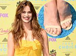 LOS ANGELES, CA - AUGUST 16:  Model Robyn Lawley attends the Teen Choice Awards 2015 at the USC Galen Center on August 16, 2015 in Los Angeles, California.  (Photo by Jason Merritt/Getty Images)
