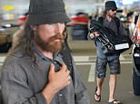 EXCLUSIVE TO INF.\nAugust 17, 2015: Actor Christian Bale and wife Sibi Blazic are seen leaving their hotel and heading to Miami International Airport in Miami, Florida to catch a flight.\nMandatory Credit: INFphoto.com Ref: infusmi-13