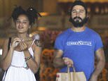 Picture Shows: Shia LaBeouf  August 16, 2015    'American Honey' actor Shia LaBeouf is spotted shopping for groceries at Gelson's with a female friend in Sherman Oaks, California.    Exclusive All Rounder  UK RIGHTS ONLY  FameFlynet UK © 2015  Tel : +44 (0)20 3551 5049  Email : info@fameflynet.uk.com