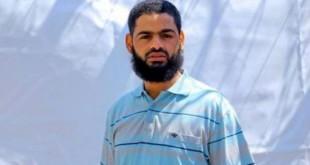 Prisoner Mohammad Allan, leading a 55-day hunger-strike in Israeli prisons.