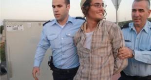 Police arrest Meir Ettinger. (photo credit:TAZPIT/ Jpost)