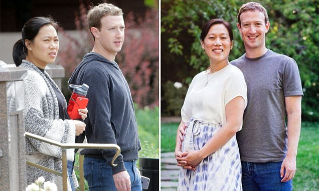 Mark Zuckerberg's wife Priscilla Chan pregnant after 3 miscarriages