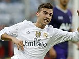 MUNICH, GERMANY - AUGUST 04: Borja Mayoral of Real Madrid runs for the ball during the Audi Cup 2015 match between Real Madrid and Tottenham Hotspur at Allianz Arena on August 4, 2015 in Munich, Germany. (Photo by Angel Martinez/Real Madrid via Getty Images)