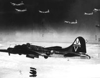 B-17 Bomber Release Bombs Arizona Wing CAF
