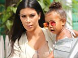 Please contact X17 before any use of these exclusive photos - x17@x17agency.com   North West looks cool in her shades as Kim Kardashian carries her to their film location in St. Barts. Kim Was accompanied by Kris Jenner, sisters Kourtney, Kendall, Kylie, and Kylie's boyfriend Tyga. August 20, 2015 X17online.com EXCLUSIVE