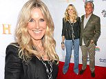 """Alana Stewart, left, and George Hamilton arrive at the Los Angeles premiere of """"Being Evel"""" at ArcLight Cinemas on Wednesday, Aug. 19, 2015. (Photo by Rich Fury/Invision/AP)"""