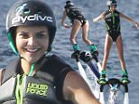 Picture Shows: Kendall Jenner  August 19, 2015\n \n The Kardashian/Jenner clan enjoy a family fun day on a yacht in St Barts. The happy reality stars had the cameras rolling while they enjoyed various water activities including jet-skiing and even fly-boarding, and were joined by Kylie's boyfriend, Tyga.\n \n Non Exclusive\n UK RIGHTS ONLY\n \n Pictures by : FameFlynet UK © 2015\n Tel : +44 (0)20 3551 5049\n Email : info@fameflynet.uk.com