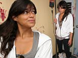 SANTA MONICA, CA - AUGUST 19:  Actress Michelle Rodriguez gets hands-on with the Call Of Duty: Black Ops 3 Beta during a visit to Treyarch Studios on August 19, 2015 in Santa Monica, California.  (Photo by Imeh Akpanudosen/Getty Images for Activision)