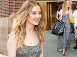 Mandatory Credit: Photo by ddp USA/REX Shutterstock (4979395f)  Little Mix - Perrie Edwards  'Elvis Duran and the Morning Show', New York, America - 20 Aug 2015