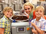 britneyspears FOLLOWING Chocolate! Yay! Me and the boys at the chocolate factory. 3,166 likes 1m britneyspearsChocolate! Yay! Me and the boys at the chocolate factory.