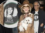 Jane Fonda carrying her dog and wearing stylish designer sunglasses was seen with her long time partner leaving 'Craigs' Restaurant in West Hollywood, CA  Pictured: Jane Fonda Ref: SPL1106216  190815   Picture by: SPW / Splash News  Splash News and Pictures Los Angeles: 310-821-2666 New York: 212-619-2666 London: 870-934-2666 photodesk@splashnews.com