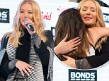 Australian rapper Iggy Azalea greets fans at Westfields Miranda,  south of Sydney, Thursday, Aug. 20, 2015. Iggy Azalea has made her only public appearance during her brief trip home to Australia as an ambassador of Aussie underwear brand Bonds. (AAP Image/ Carol Cho) NO ARCHIVING