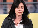 Mandatory Credit: Photo by Startraks Photo/REX Shutterstock (4377963aw).. Shannen Doherty.. 'Good Day NY' TV Show, New York, America - 16 Jan 2015.. Shannen Doherty, Holly Marie Combs, Nina Agdal and Christina Milian on Good Day New York..