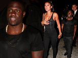 West Hollywood, CA - Kevin Hart escorts his fiancee Eniko Parrish out of 1OAK nightclub. The cute couple matched in all black for their date night in West Hollywood.\nAKM-GSI         August 18, 2015\nTo License These Photos, Please Contact :\nSteve Ginsburg\n(310) 505-8447\n(323) 423-9397\nsteve@akmgsi.com\nsales@akmgsi.com\nor\nMaria Buda\n(917) 242-1505\nmbuda@akmgsi.com\nginsburgspalyinc@gmail.com