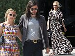 Picture Shows: Dianna Agron  August 18, 2015    'Glee' actess Dianna Agron enjoys some time spent shopping solo in West Hollywood, California.     Dianna was rocking a maxi dress with a hummingbird print.    Exclusive - All Round  UK RIGHTS ONLY    Pictures by : FameFlynet UK © 2015  Tel : +44 (0)20 3551 5049  Email : info@fameflynet.uk.com