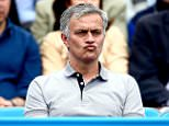 LONDON, ENGLAND - JUNE 20:  Chelsea manager Jose Mourinho watches the match between Kevin Anderson of South Africa and Gilles Simon of France during day six of the Aegon Championships at Queen's Club on June 20, 2015 in London, England.  (Photo by Jordan Mansfield/Getty Images for LTA)