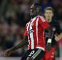 Sadio Mane during the Europa League match between Southampton and FC Midtjylland played at St Mary's, Southampton
