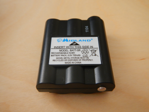 Midland XT511 rechargeable battery pack