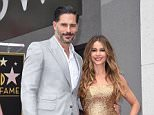 May 7, 2015 Hollywood, Ca. Joe Manganiello and Sofia Vergara Sofia Vergara Hollywood Walk of Fame Star Ceremony © Chase Rollins / AFF-USA.COM