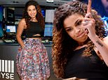 """Mandatory Credit: Photo by ddp USA/REX Shutterstock (4988910b)\n Jordin Sparks\n Jordan Sparks rings closing bell at the New York Stock Exchange, New York, America - 21 Aug 2015\n Ms. Sparks celebrates the release of her third album """"Right Here, Right Now"""" on August 21.\n"""