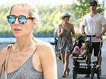 Picture Shows: Chris Hemsworth, India Hemsworth, Elsa Pataky  August 19, 2015\n \n ** min web / online fee £400 for set **\n \n 'Ghostbuster' actor Chris Hemsworth and wife Elsa Pataky took their daughter India out for a Sunday afternoon stroll through a park in Boston, Massachusetts. Later Elsa was spotted out once again with India while Chris was back on set. \n \n Exclusive All Rounder\n UK Rights Only\n FameFlynet UK © 2015\n Tel : +44 (0)20 3551 5049\n Email : info@fameflynet.uk.com