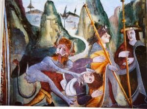Sts Bernard et Sébasrtien, Roure