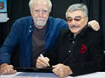 Hollywood Icon Burt Reynolds attends his second Wizard World Comic Con in Chicago held at Donald E. Stephens Convention Center in Chicago, IL on August 22, 2015   Pictured: Scott Wilson and Burt Reynolds Ref: SPL1107879  220815   Picture by: Ouzounova/Splash News  Splash News and Pictures Los Angeles: 310-821-2666 New York: 212-619-2666 London: 870-934-2666 photodesk@splashnews.com