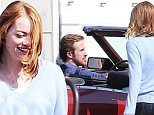 ***MANDATORY BYLINE TO READ INFPhoto.com ONLY***\nEmma Stone on the set of 'La La Land' in Los Angeles, CA.\n\nPictured: Ryan Gosling, Emma Stone\nRef: SPL1107588  210815  \nPicture by: Fresh/INFphoto.com\n\n