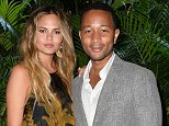 SAINT-TROPEZ, FRANCE - JULY 22: Chrissy Teigen and John Legend attend a Dinner and Auction during The Leonardo DiCaprio Foundation 2nd Annual Saint-Tropez Gala at Domaine Bertaud Belieu on July 22, 2015 in Saint-Tropez, France.  (Photo by Handout/Getty Images)