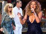 Mandatory Credit: Photo by MediaPunch/REX Shutterstock (4756222k).. Mariah Carey.. Mariah Carey residency debut at The Colosseum, Las Vegas, America - 06 May 2015.. ..