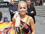 Mandatory Credit: Photo by Beretta/Sims/REX Shutterstock (4904631bh).. Rita Ora.. 'The X Factor' TV Show Auditions, London, Britain - 16 Jul 2015.. WEARING VERSACE..