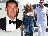 PORTOFINO, ITALY - JUNE 26:  Mariah Carey And James Packer are seen on June 26, 2015 in Portofino, .  (Photo by Photopix/GC Images)