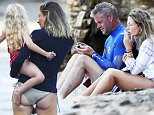 Picture Shows: Eric Dane, Rebecca Gayheart  August 21, 2015\n \n Actress Rebecca Gayheart and her husband Eric Dane are spotted on the beach in Malibu, California with their daughters Billie and Georgia. The happy family were all smiles while enjoying a beach day with their friends and family.\n \n Non Exclusive\n UK RIGHTS ONLY\n \n Pictures by : FameFlynet UK © 2015\n Tel : +44 (0)20 3551 5049\n Email : info@fameflynet.uk.com