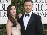 *FILE PHOTO* Beverly Hills, CA - Megan Fox and Brian Austin Green end their 11-year relationship with 5 years of marriage.  Megan Fox and Brian Austin Green at the 70th Annual Golden Globe Awards at the Beverly Hills Hilton Hotel in Beverly Hills, California AKM-GSI    August  19, 2015 To License These Photos, Please Contact : Steve Ginsburg (310) 505-8447 (323) 423-9397 steve@akmgsi.com sales@akmgsi.com or Maria Buda (917) 242-1505 mbuda@akmgsi.com ginsburgspalyinc@gmail.com