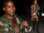 EJ Johnson Wears a Fishnet Shirt at Nice Guy\n\nPictured: EJ Johnson\nRef: SPL1108084  230815  \nPicture by: All Access Photo Group\n\nSplash News and Pictures\nLos Angeles: 310-821-2666\nNew York: 212-619-2666\nLondon: 870-934-2666\nphotodesk@splashnews.com\n