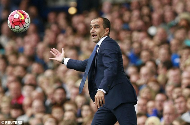 Everton boss Roberto Martinez will continue chasing reinforcements before the transfer window closes