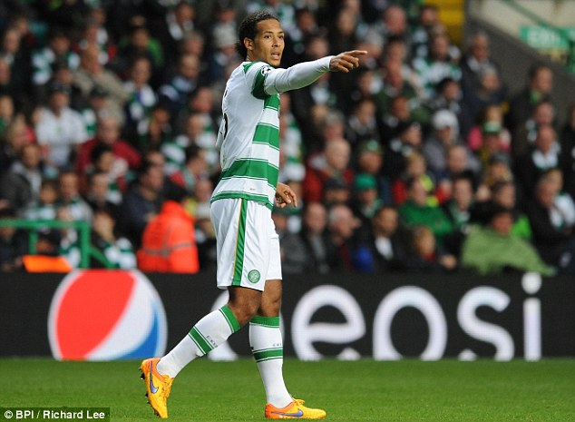 Celtic defender Virgil van Dijk is not heading to Southampton before his side's European clash with Malmo