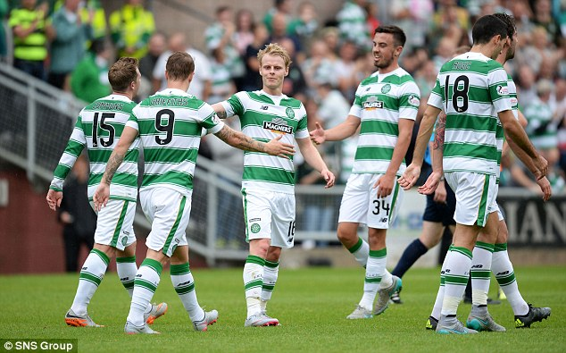 Van Dijk was one of nine players rested for the weekend's 3-1 Premiership victory over Dundee United