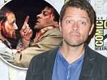 """12 Jul 2015, San Diego, California, USA --- Misha Collins attends the """"Supernatural"""" press line on day 4 of Comic-Con International on Sunday, July 12, 2015, in San Diego. (Photo by Paul A. Hebert/Press Line Photos) --- Image by © Paul A. Hebert/Press Line Photos/Corbis"""