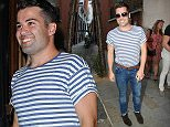 23 August 2015.\nJoe McElderry seen leaving the Cadogan Hall after their final performance of Sweet Charity. \nCredit: Ben Eade/GoffPhotos.com   Ref: KGC-102\n