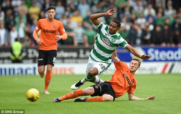 Saidy Janko could be pitched in at the Swedbank Stadium after completing 90 minutes at Tannadice