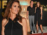 IBIZA, SPAIN - AUGUST 23:  Founder of Casamigos Tequila Rande Gerber (L) and Cindy Crawford attend as Casamigos founders Rande Gerber, George Clooney and Mike Meldman host the official launch of Casamigos Tequila in Ibiza and Spain at Ushuaia Ibiza Beach Hotel on August 23, 2015 in Ibiza, Spain.  (Photo by David M. Benett/Dave Benett/Getty Images for Casamigos Tequila)