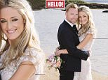 EMBARGOED 00.01 MONDAY 24TH - Singer Ronan Keating and his new wife Storm Uechtritz exclusively share details of their romantic wedding with HELLO! MUST RUN COVERimage001.jpg