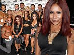 "Picture Shows: Nicole Polizzi  August 23, 2015\n \n Reality star Nicole ""Snooki"" Polizzi and friends attend the Chippendales Show at the Chippendales Theater in the Rio All-Suite Hotel & Casino in Las Vegas, Nevada.\n \n Non-Exclusive\n UK Rights Only\n \n Pictures by : FameFlynet UK © 2015\n Tel : +44 (0)20 3551 5049\n Email : info@fameflynet.uk.com"
