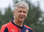 ST ALBANS, ENGLAND - AUGUST 23:  Arsenal manager Arsene Wenger during a training session at London Colney on August 23, 2015 in St Albans, England.  (Photo by Stuart MacFarlane/Arsenal FC via Getty Images)